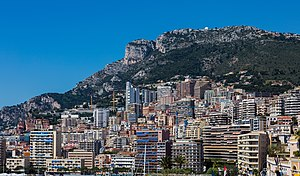 Tête de Chien - The Tête de Chien above Monaco