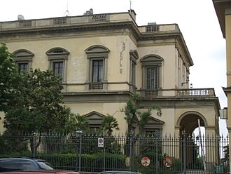Polimoda - Villa Favard, entrance to the school