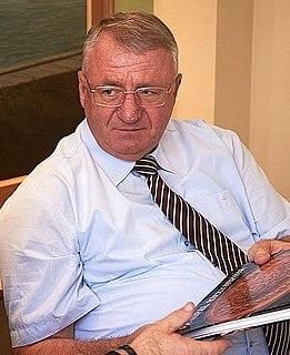 Vojislav Šešelj Serbian politician