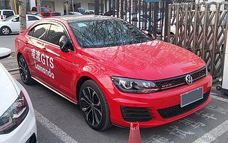 Volkswagen Lamando - Image: Volkswagen Lamando GTS 01 China 2017 03 19