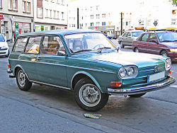 1969-72 Volkswagen 411 estate
