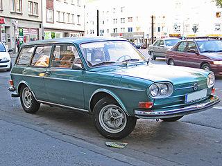 Volkswagen Type 4 1968-1974 car type