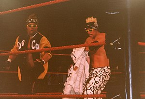 Too Cool - Grandmaster Sexay (left) and Scotty 2 Hotty in London, England