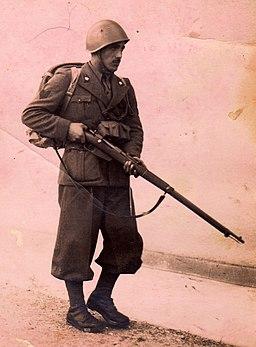 WW II Alpino Sergente Giovannucci Verino in Battle Uniform