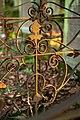 Waibstadt - Jüdischer Friedhof - mittlerer Teil - Gitter um Grab Detail 1.jpg