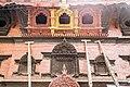 Wall with Wooden Tympanum at Entrance of Kumari House- Basantapur, Kathmandu Nepal-0122.jpg