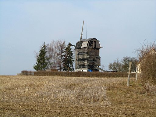 Wallwitz (Petersberg), Windmühle
