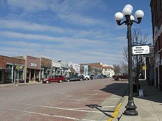 Walnut, Iowa City in Iowa, United States