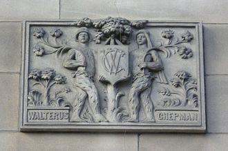 Androw Myllar - An adjacent tablet commemorates Chepman
