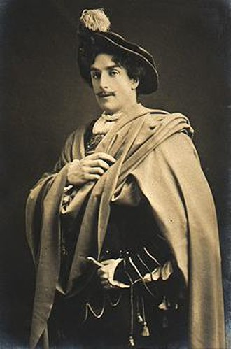 Walter Hampden - Walter Hampden as Lucentio in The Taming of the Shrew at the Adelphi Theatre, London (1904)