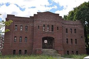 Company F State Armory - Image: Waltham MA Company F State Armory