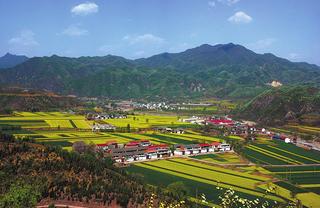 Mount Wangwu mountain in Peoples Republic of China