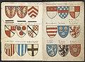 Wapenboek Beyeren (armorial) - KB79K21 - folios 003v (left) and 004r (right).jpg