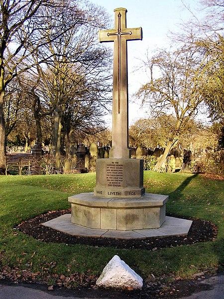 File:War Memorial, Bury Cemetery.jpg