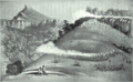 War of the Axe - Sketch of shootout between British Imperial Troops and Xhosa Soldiers - Amatola Mnts June 1851.png