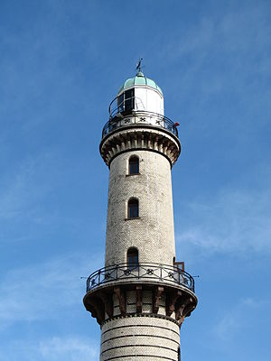 Warnemünde Lighthouse - Image: Warnemunde Lighthouse by Bruce Mc Adam