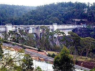 Warragamba Dam dam in Warragamba, New South Wales