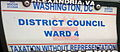Washington, D.C. city council license plate.JPG