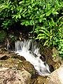 Waterfall at Waterfall Cottage, Woolstone - geograph.org.uk - 504787.jpg
