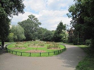 Watling Park - Image: Watling Park Rose Garden