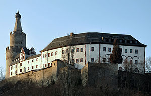 Die Osterburg in Weida