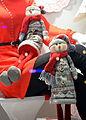 Weihnachtsschaufenster in Sanok..JPG
