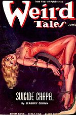 Weird Tales cover image for June 1938