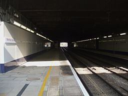 Wembley Central stn fast look north2