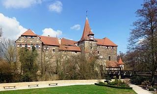 Lauf Castle Cultural heritage monument in Landkreis Nürnberger Land, Bavaria, Germany