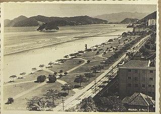 Praia Gonzaga - Santos