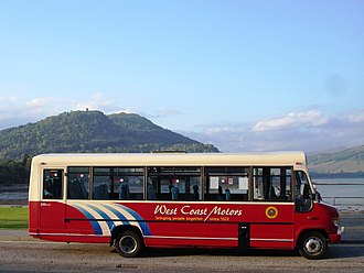 West Coast Motors - Plaxton Beaver bodied Mercedes-Benz Vario at Inveraray in May 2007