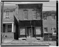 Western elevation. View of main entrance - William Mueller Store, 2242 Eoff Street, Wheeling, Ohio County, WV HABS WVA,35-WHEEL,43-2.tif