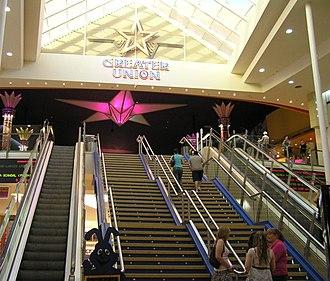 Westfield Marion - Image: Westfield marion cinema steps