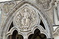 Westminster Abbey, London, UK - West facade - detail.jpg