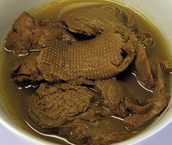 Wheat gluten (vegetarian mock duck) 2007.jpg