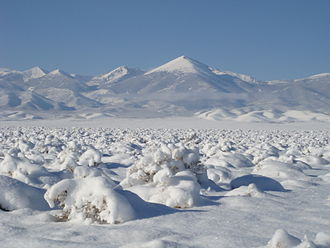 Desert climate - Cold deserts do get the occasional blanket of snow, such as Snake Valley, Utah and Nevada