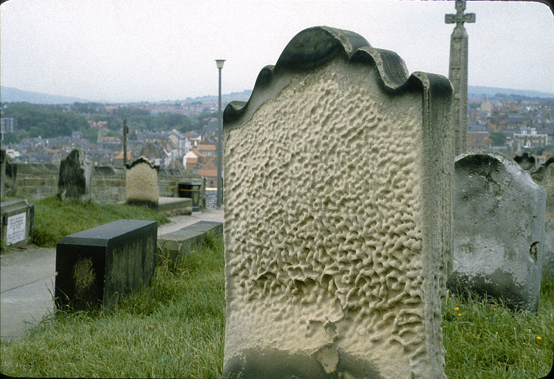 File:Whitby - St Mary Church - Headstone (3720952445).jpg