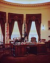 White House Oval Office photographed by Theodor Horydczak