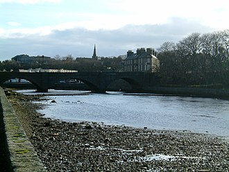 A99 road - Bridge of Wick carrying the A99 over Wick River