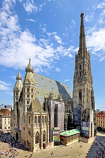St. Stephens Cathedral, Vienna Church in Vienna, Austria