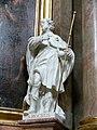 Wien Peterskirche Figur Rochus.jpg