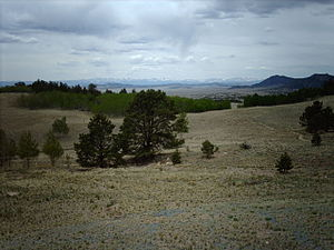 Wilkerson Pass - View from the pass toward South Park (Park County, Colorado)