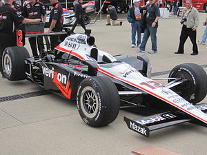 Team Penske - Will Power's car at the 2010 Indianapolis 500.