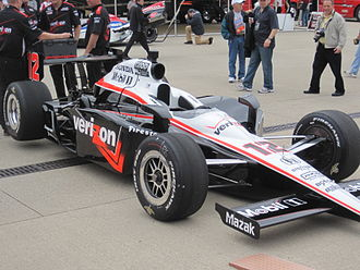 2010 Indianapolis 500 - Image: Will Power Car 2010 Indy 500 Practice Day 7