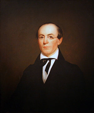 William Lloyd Garrison - Portrait of William Lloyd Garrison by Nathaniel Jocelyn, oil on panel, 1833, National Portrait Gallery, Washington, D.C.