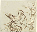 William Etty at the Life Class by William Holman Hunt YORAG R3257-1 crop.jpg