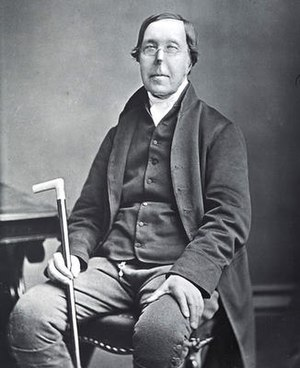 Glasgow Emancipation Society - Photograph of William Smeal, circa 1865