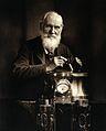 William Thomson, Baron Kelvin. Photograph. Wellcome V0028628.jpg