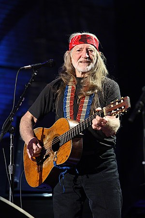 Forever Country - Willie Nelson was one of the veteran artists to make an appearance in the song.