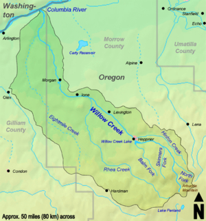 Willow Creek Watershed.png